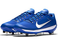 Nike Air Clipper Men's Royal 880261-415 Low Metal Baseball Cleats - NWOB - US 13