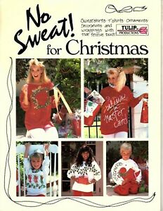 Tulip No Sweat for Christmas - Project ideas and Pattern Instructions 1987