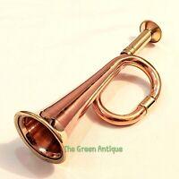 Antique Brass Car Texi Bigul Horn Collectible Gift
