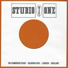 STUDIO ONE REPRODUCTION RECORD COMPANY SLEEVES - (pack of 10)