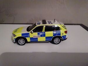 Code 3 BMW X5 armed response vehicle City of London police 1/43