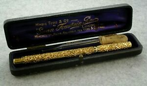 The Swan Pen by Mabie Todd & Bard New York