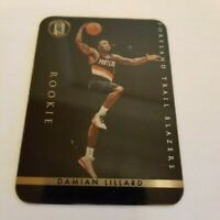 2011-12 Gold Standard - Golden Futures Metal #XRC-6 Damian Lillard (RC)  [145]