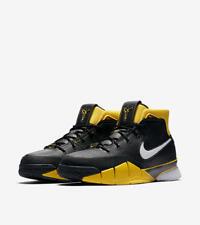 Sz 9.5 NIKE KOBE 1 Protro Retro VARSITY Maize Yellow Black AQ2728 003 Lakers DS