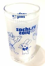 Japan Import SOCHI RUSSIA 2014 Winter Olympics Coca-Cola Olympic Glass H11cm