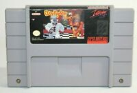 Clay Fighter SNES Super Nintendo Authentic, Cleaned & Tested! Works Great! NICE!