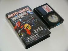 Betamax Video ~ Moto-Cross Professionals starring Mikkola, Noyce, Lackey, Rahier