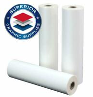 PET Laminating Film Roll Premium Quality - 3 Mil Thick Clear Gloss 2 Roll Pack