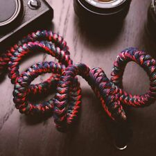 Climbing Rope + Leather Braided Camera Neck Shoulder Strap for X-T2 PRO2 E3 T20