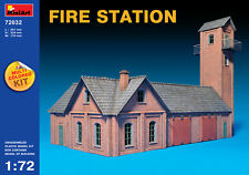 MINIART 1/72 caserne de pompiers (Multicolore Kit) #72032