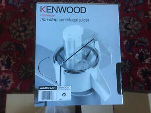 KENWOOD AT935A Entsafter-Aufsatz Saft- Obst- Gemüse- Zentrifuge Serie M, weiss
