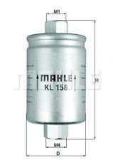 Kraftstofffilter für Kraftstoffförderanlage KNECHT KL 158