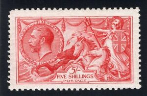 1913 Great Britain. SC#174. SG#401. Mint, Hinged, VF.