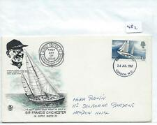 wbc. - GB - FIRST DAY COVER - FDC - 482 - SPECIALS - 1967 - FRANCIS CHICHESTER