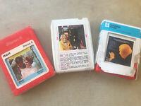 Lot (3) 8 Track Tapes Arthur Fielder & Boston Pops - Play Paul Simon, Broadway +