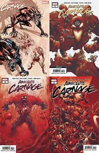 Absolute Carnage (#2, #3, #4, #5 inc. Variants, 2019)