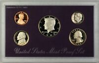 1989 US Mint 5 Coin Proof Set as Issued