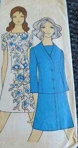 Original Vintage Dressmaking Pattern- Family Circle 4 SIZE 14 bust 38