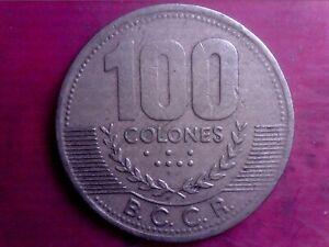 COSTA RICA   100   COLONES    1998   BIG COIN    JUN22F