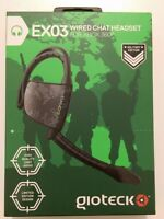 GIOTECK EX03 Online Messenger Chat Military Headset for XBOX 360 - NEW