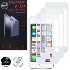 3 Films Verre Trempe Protecteur Protection BLANC pour Apple iPhone 5C