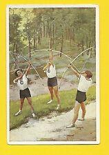 Ladies Archery Vintage 1932 Sanella Sports Card #13