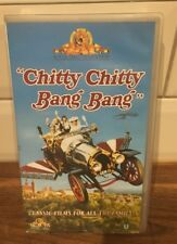 *Vintage Chitty Chitty Bang Bang VHS Tape, U Rated, 1968, Good Condition!
