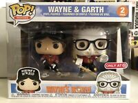 Funko POP! Movies Wayne's World  WAYNE and GARTH 2-pack Target Exclusive NEW!