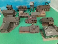 Pola, Ahm, Other N Scale Commercial Buildings Lot of 11 Pieces
