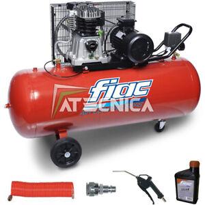 Compressore a cinghia professionale 200l litri FIAC AB 200-360 M 230V 3HP 2,2KW