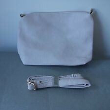 Small faux leather pale pink shoulder bag new without tags