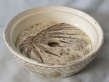 J G Palm Late Mayers Soap Dish Bottom and Liner Sold AS IS