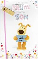 Boofle To Mum From Son Happy Mother's Day Greeting Card Embellished Cards