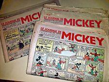 Journal de Mickey Lot Avant Guerre 100 n° dont les  n° 12 26 27 .