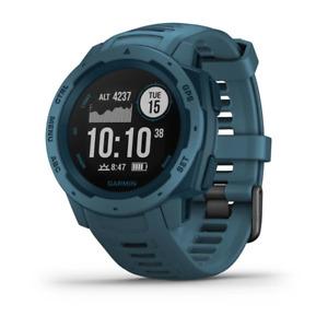 Garmin Instinct Men's Running Watch Lakeside Blue