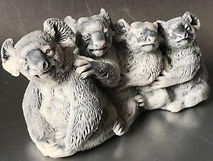 Koalas animals of Australia small figurine gifts Souvenirs