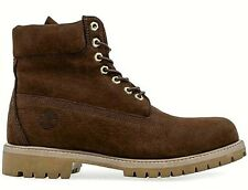 "TIMBERLAND Leather Boots 12.5 / 13 (US)  6"" Premium Waterproof Nubuck rp$270 NEW"