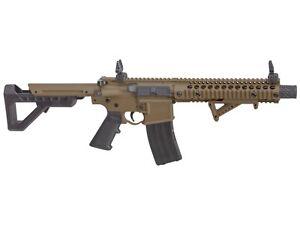 Crosman / Panther Arms DPMS SBR Full Automatic CO2 Target BB Air Rifle - DSBRFDE