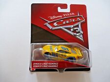 Disney Pixar Cars 3 Dinoco Cruz Ramirez Toy Car Mattel 2016