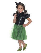 Kids Wicked Witch West Wizard of Oz Costume Toddler Age 1-2 Height  88-99 cm
