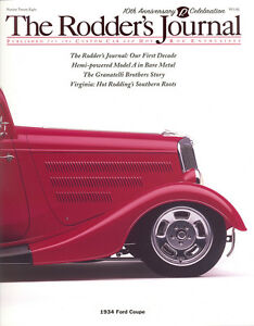 No. 28 Ray Bartlett's 1934 Ford Coupe Cover A Subscriber RODDERS JOURNAL
