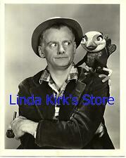 "Art Carney & Bil Baird Marionette Promo Photograph ""Peter & Wolf"" ABC-TV 1958"