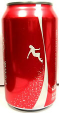 UNOPEN EMPTY Can Coke Coca-Cola 2010 Vancouver Winter Olympics USA Speed Skating