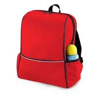 Quadra Childs Junior School Backpack Rucksack RED