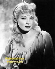 GENE TIERNEY 8x10 Lab B&W Photo BLONDE Bell for Adano 1945 Stunning Movie Still