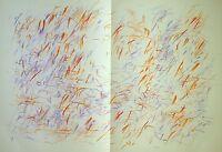 Jean Bazaine - Original Lithograph in colors from Derriere Le Miroir 170, 1968