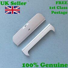 100% Genuine Nokia X6 top+bottom end fascia housing screw cover White