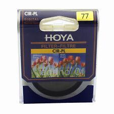 HOYA CPL PL-CIR 77mm Ultra-thin Ring Circular Polarizer fit for SLR Camera Lens