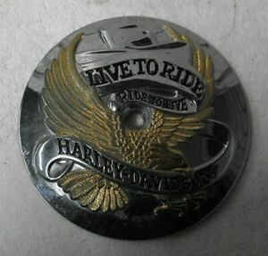 Harley Davidson Touring Softail AIR CLEANER Live To Ride Insert # 29664-01