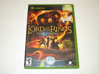 Lord of the Rings the  the Third Age for  Original Xbox in VG Cond Free Ship